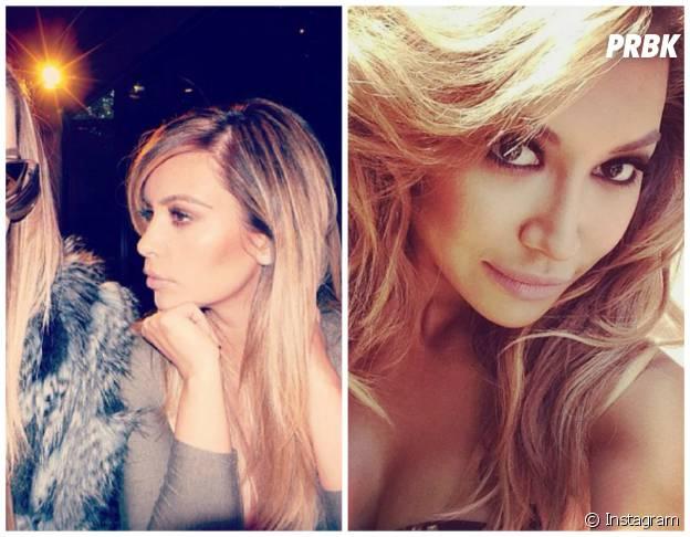 Naya Rivera et Kim Kardashian : la blonde attitude