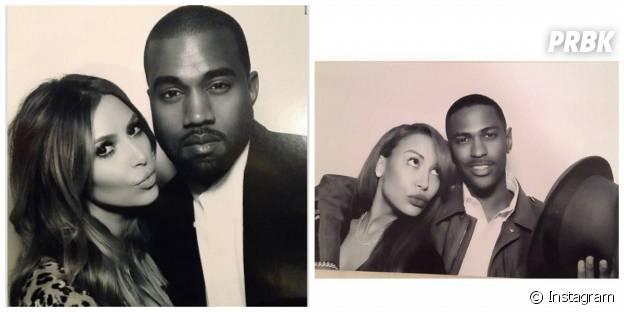 Naya Rivera et Kim Kardashian :la photo accompagnée