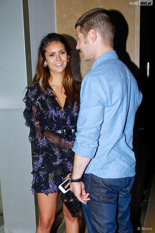Nina Dobrev et Ben McKenzie proches lors du Comic Con, le 26 juillet 2014