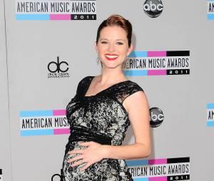 Sarah Drew pendant la première grossesse en 2011