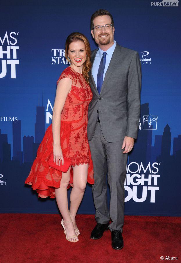 Sarah Drew et son mari Peter Lanfer attendent un deuxième enfant