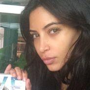 Kim Kardashian sans maquillage : selfie au naturel sur Instagram