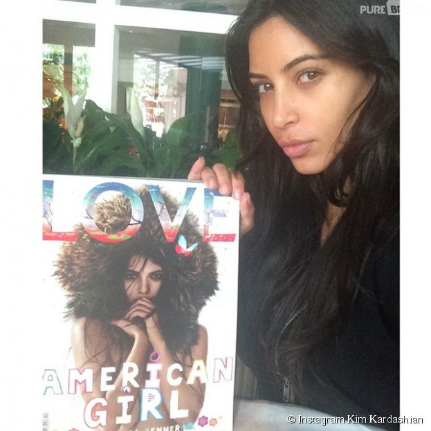 Kim Kardashian : selfie au naturel pour soutenir Kendall Jenner