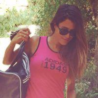 Karine Ferri : sportive sexy sur Twitter