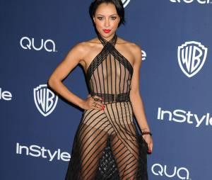 Kat Graham : tenue très transparente pour une soirée des Oscars en février 2014