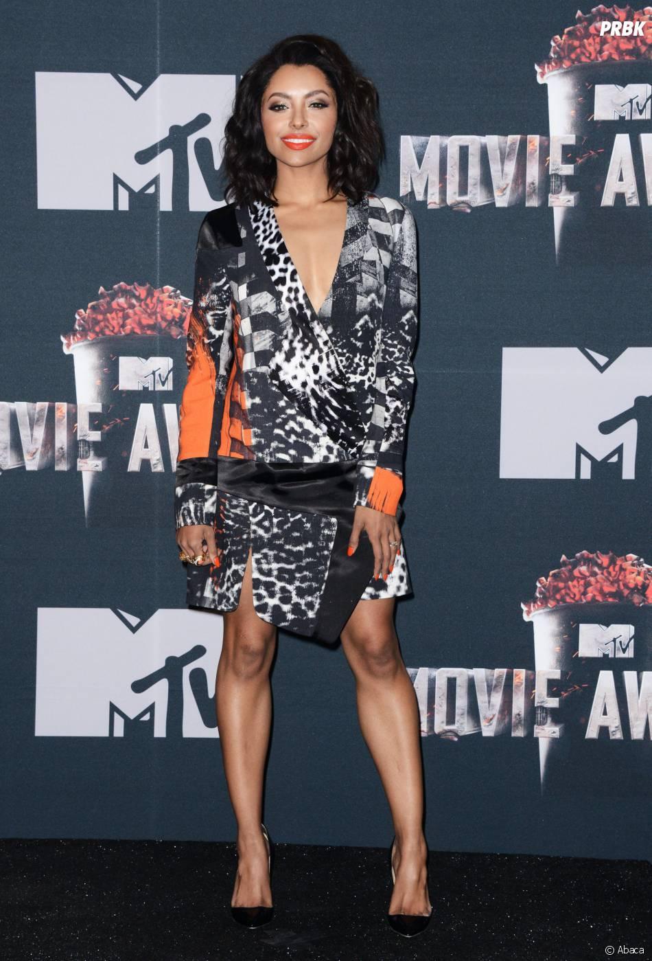 Kat Graham : décoletée pour les MTV Movie Awards 2014