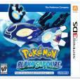 PokémonSaphir Alpha: la jaquette du remake 3DS