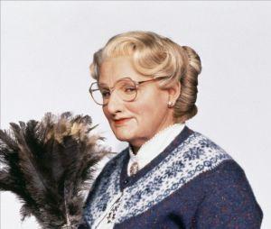 Robin Williams dans la peau de Madame Doubtfire