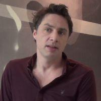 Le rôle de ma vie : Zach Braff émouvant.. avant un retour en série ? (INTERVIEW)