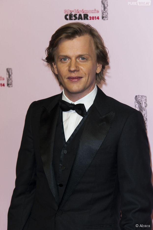 Alex Lutz sur le tapis rouge des César 2014