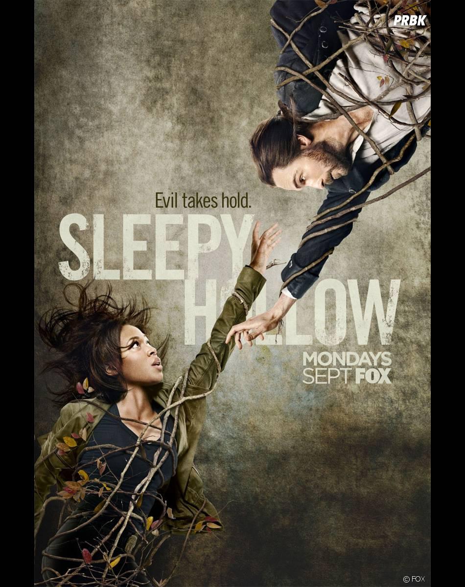 Sleepy Hollow saison 2 : Nicole Beharie et Tom Mison sur un poster