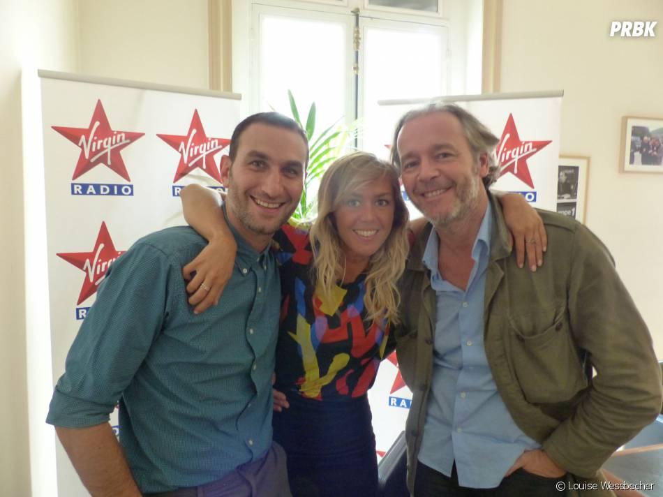 Enora Malagré, Michael Zazoun et Jean-Michel Maire aux commandes d'Enora le Soir sur Virgin Radio