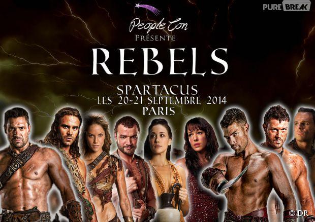 Spartacus : gagnez des places pour la convention à Paris