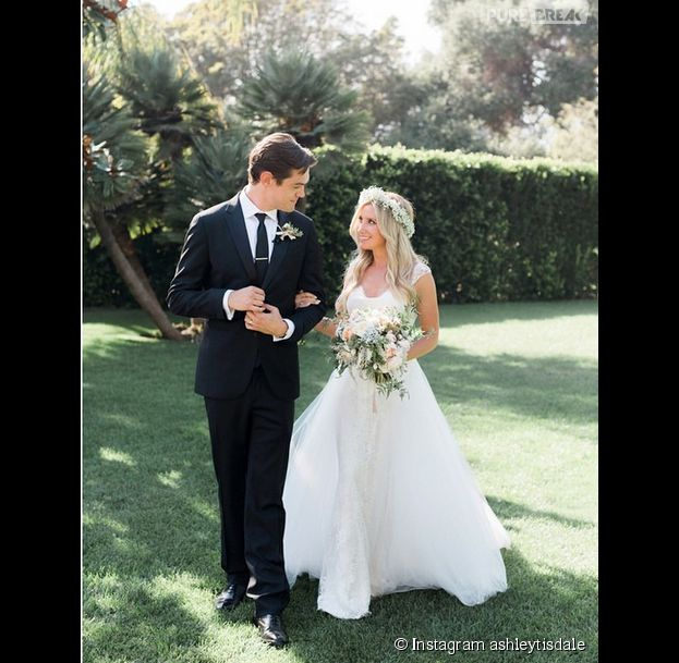Ashley Tisdale mariée à Christopher French