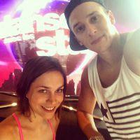 Nathalie Péchalat et Grégoire Lyonnet : selfie pour les répétitions de DALS 5