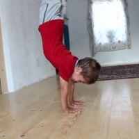 Claudio, 5 ans seulement et déjà bodybuilder