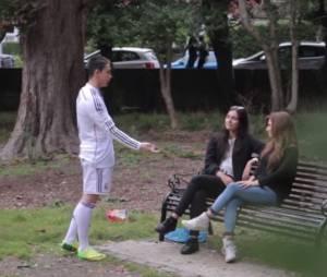Un youtuber se déguise en Cristiano Ronaldo pour draguer