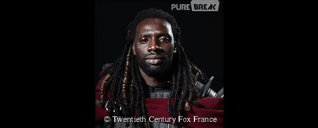 Omar Sy est le super-héros Bishop dans X-Men Days of Future Past