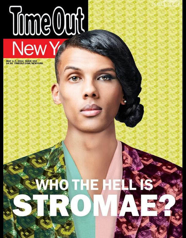 Stromae en Une du magazine new-yorkais, Time Out