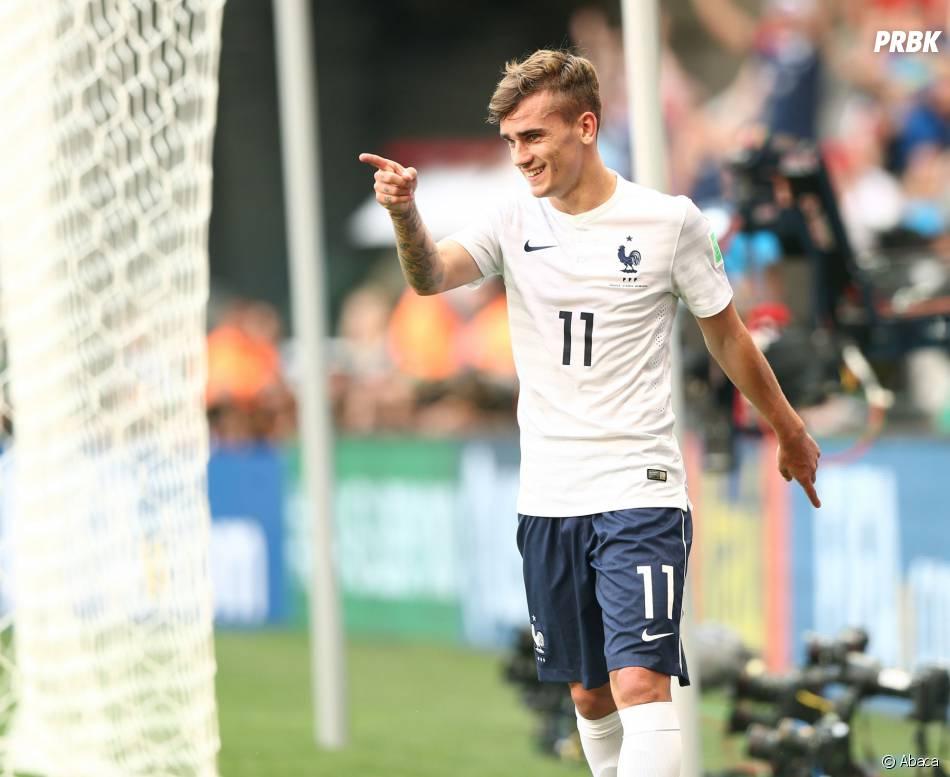 Antoine Griezmann est l'étoile montante du football français
