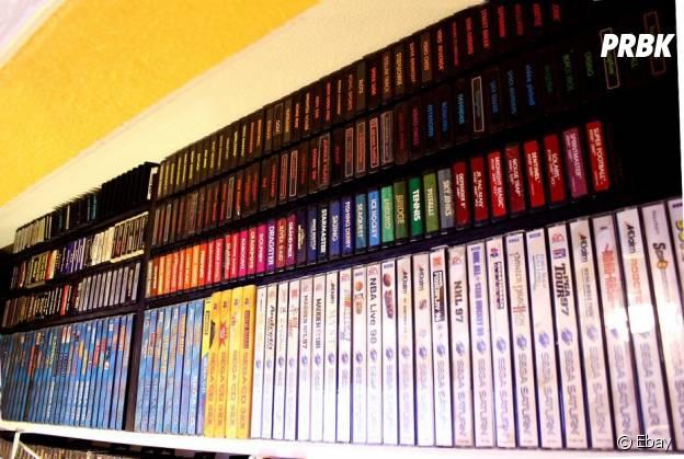 Un joueur vend son incroyable collection de jeux vidéo pour 164,000 dollars