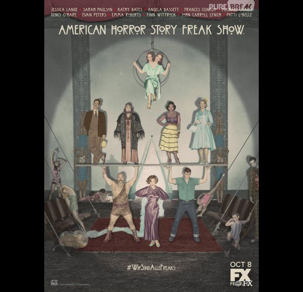 American Horror Story : la saison 4 débute ce mercredi 8 octobre