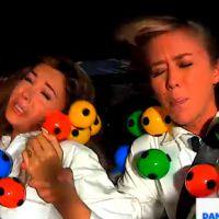 Nabilla Benattia et Enora Malagré en panique pendant une épreuve de TPMP