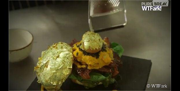 Glamburg : le hamburger le plus cher du monde est à base de cavier, truffe noire et blanche, boeuf kobé...