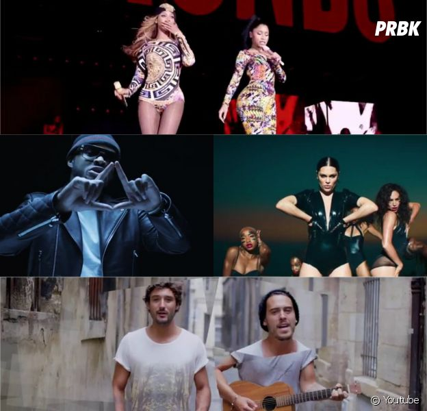 Fréro Delavega, Beyoncé ft. Nicki Minaj, Dosseh, Jessie J ft. 2 Chainz et Ed Sheeren dans les clips de la semaine du 6 octobre 2014