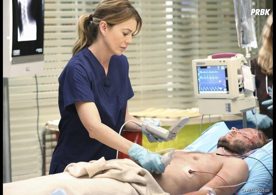 Grey's Anatomy saison 11, épisode 1 : Meredith face à un patient sur une photo