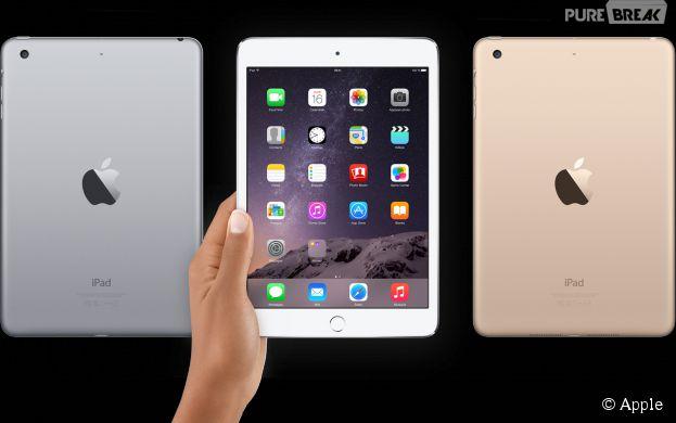 ipad mini 3 apple a d voil sa nouvelle mini tablette. Black Bedroom Furniture Sets. Home Design Ideas
