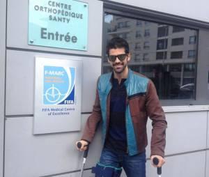 Danse avec les Stars 5 :Miguel Angel Munoz à Lyon pour rencontrer un spécialiste du genou