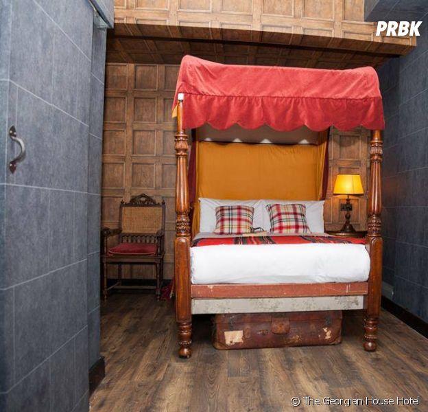 Le Georgian House Hotel s'est inspiré de la saga Harry Potter pour l'une de ses chambres
