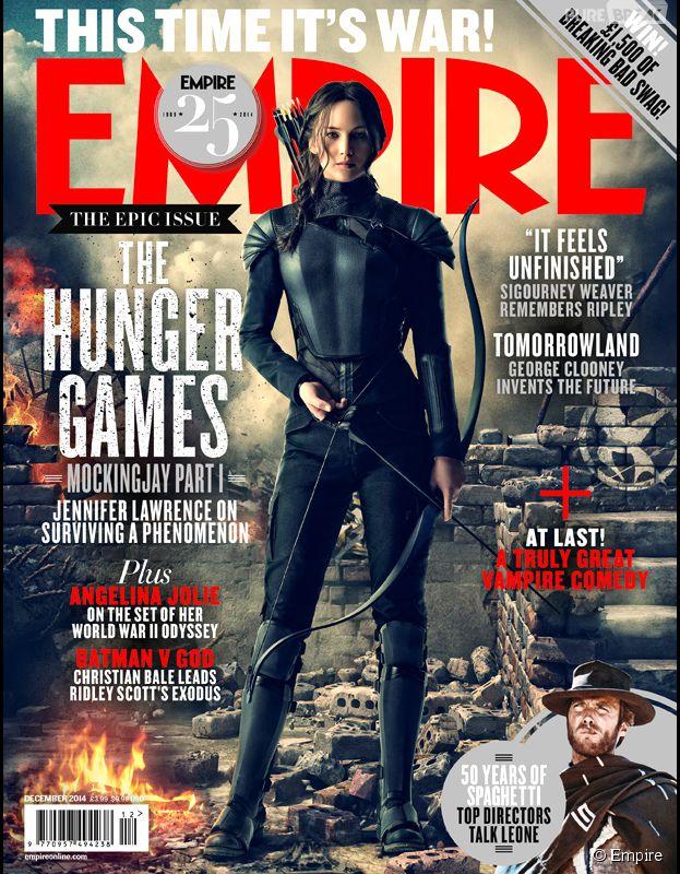 Hunger Games 3 : Jennifer Lawrence en couverture du magazine Empire