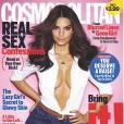 Emily Ratajkowski en couverture de Cosmopolitan US pour le mois d'octobre 2014
