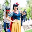 Halloween 2014 : Molly Sims en Blanche Neige