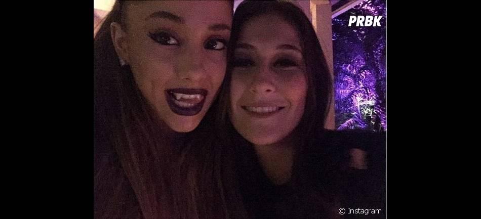 Ariana Grande en vampire pour Halloween 2014