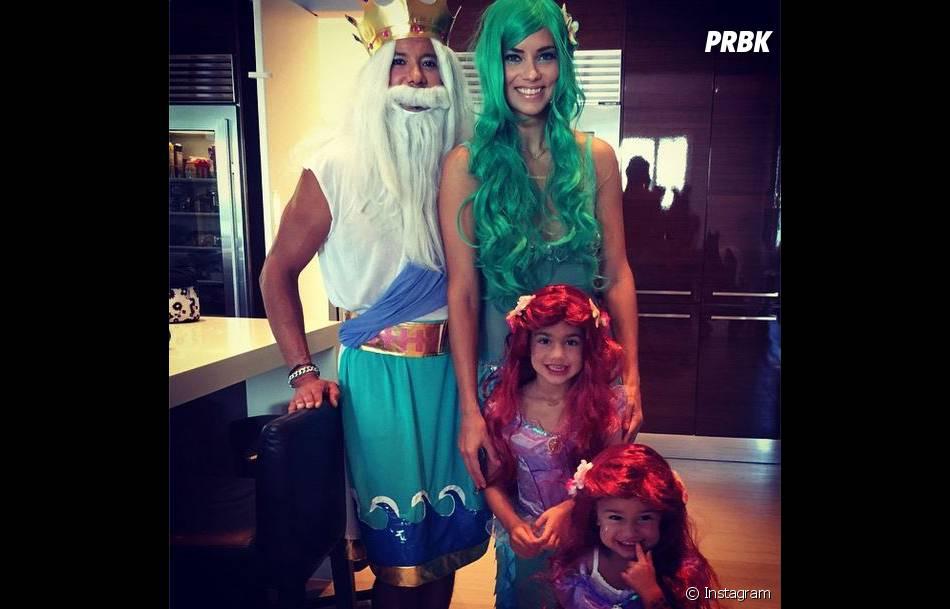 Adriana Lima et sa famille pour Halloween 2014