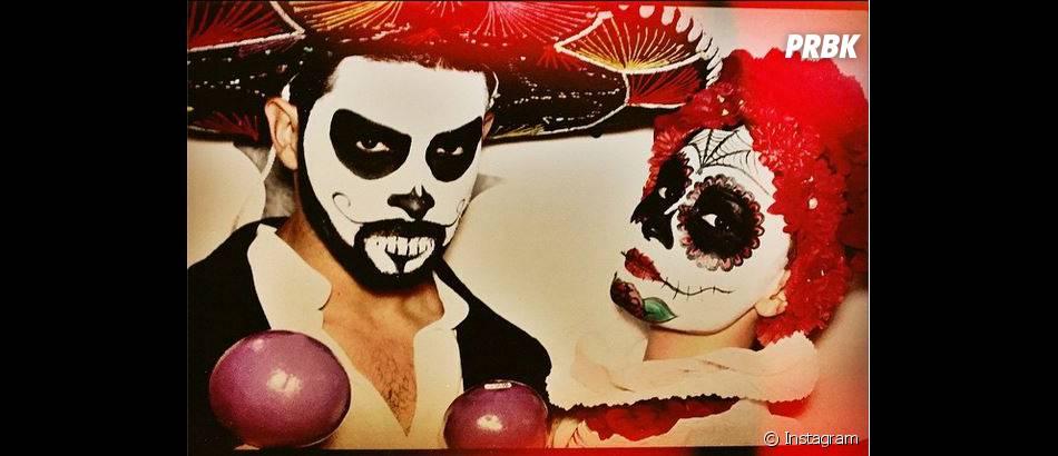 Demi Lovato en clown pour Halloween 2014