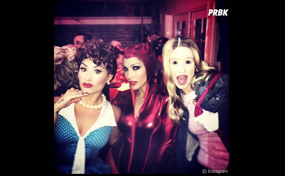Demi Lovato et Jennifer Lopez ont fêté Halloween 2014 ensemble