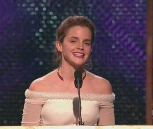 Emma Watson dédié son Britannia Award à un hamster mort, le 30 octobre 2014