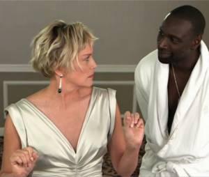 Sharon Stone et Omar Sy réunis dans une vidéo pour les 30 ans de Canal+