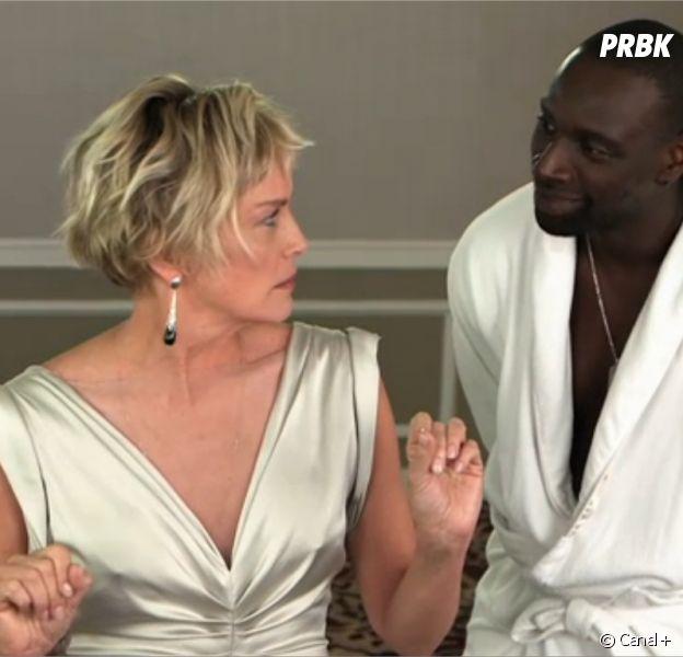 Omar Sy et Sharon Stone réunis pour le 30ème anniversaire de Canal+