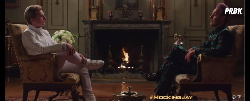 Hunger Games 3 : Josh Hutcherson et Stanley Tucci dans un extrait
