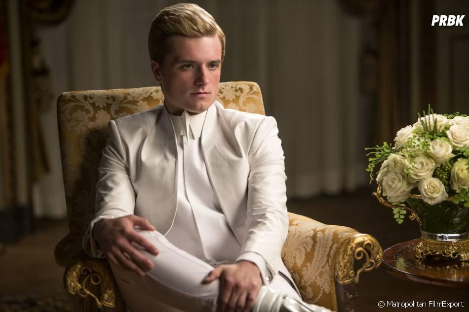Hunger Games 3 : Josh Hutcherson sur une photo