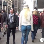 Elle se balade nue dans New York, personne ne remarque rien