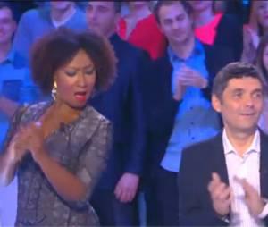 Touche pas à mon poste : Nadège Beausson-Diagne à fond pour sa première le 21 novembre 2014 sur D8