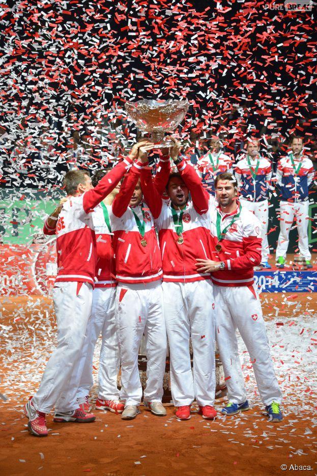 Coupe Davis 2014 : la Suisse sacrée, le 23 novembre à Lille
