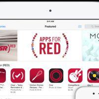 Apple : soutenez la recherche contre le SIDA avec les Apps for (RED)