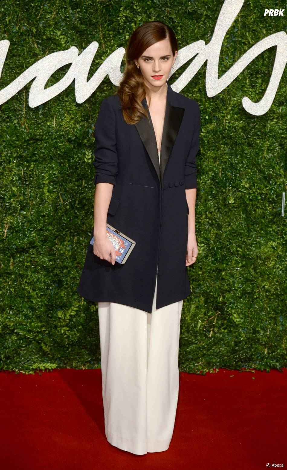Emma Watson aux British Fashion Awards 2014, le 1er décembre 2014 à Londres